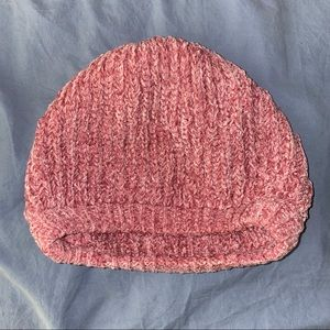 Pink Knitted Beanie